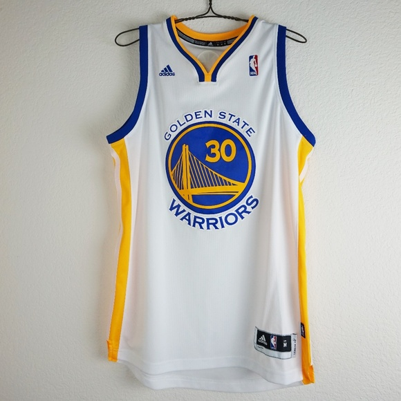 1585787c5 adidas Shirts | White Swingman 30 Stephen Curry Jersey | Poshmark